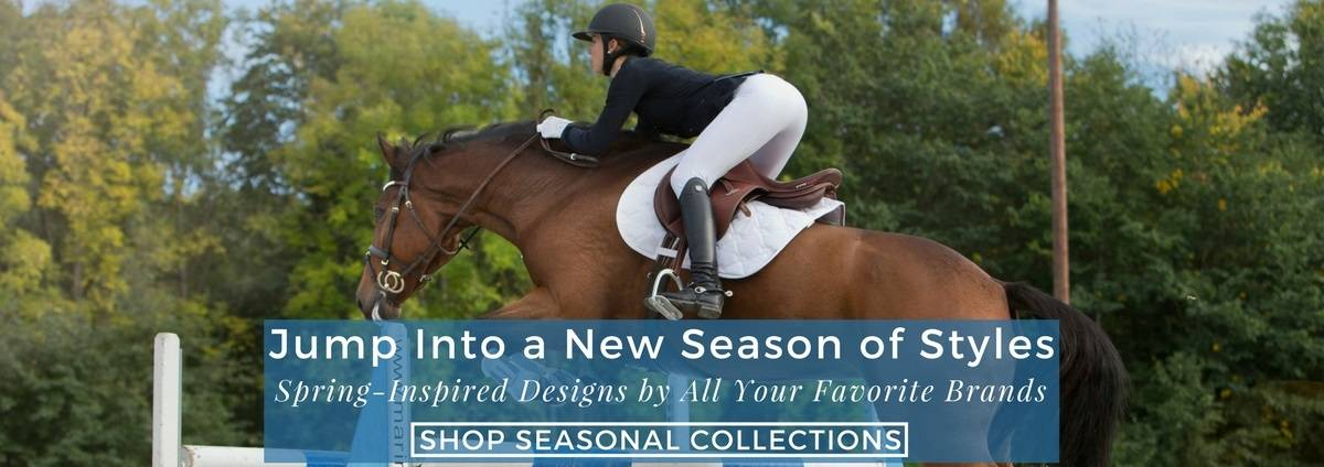 Shop Seasonal Equestrian Apparel & Footwear Collections