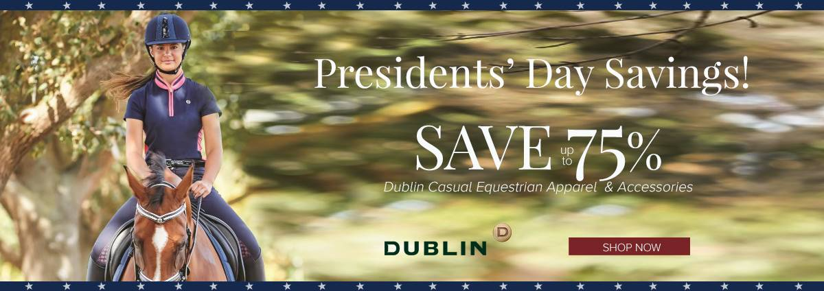 Shop Dublin Casual Clothing this Presidents' Day