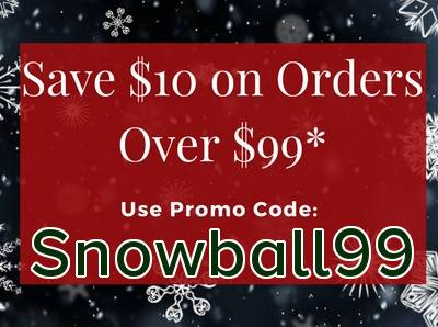 Save $10 on Orders Over $99