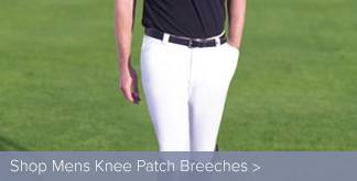 Mens Knee Patch Breeches