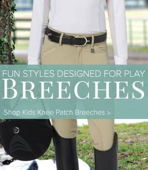 Kids Knee Patch Breeches