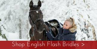 English Flash Bridles