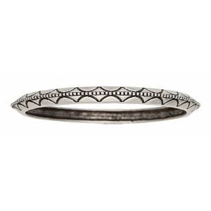 Rock 47 Pins and Needles Etched Bangle Bracelets