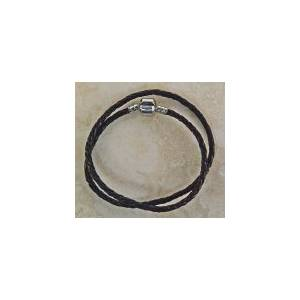 Joppa Double Wrap Leather Bracelet