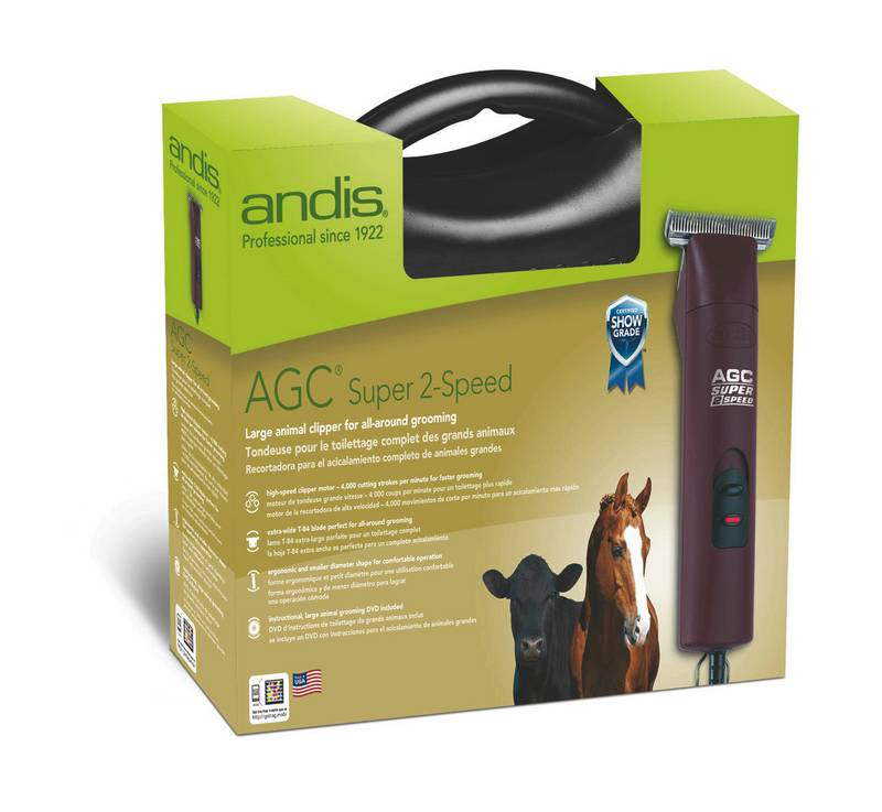 Andis AGC Super 2 Speed with T 84 Blade
