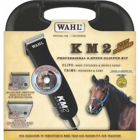 Wahl KM2 Clipper with 2 Blades