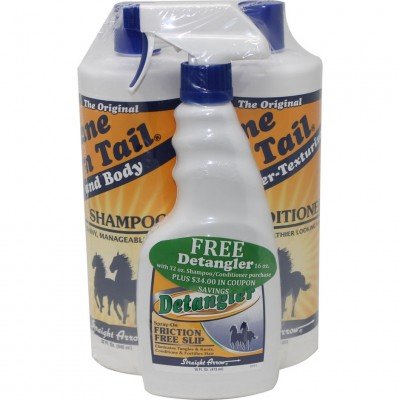 Mane 'N Tail Shampoo & Conditioner with Free Detangler Wrap