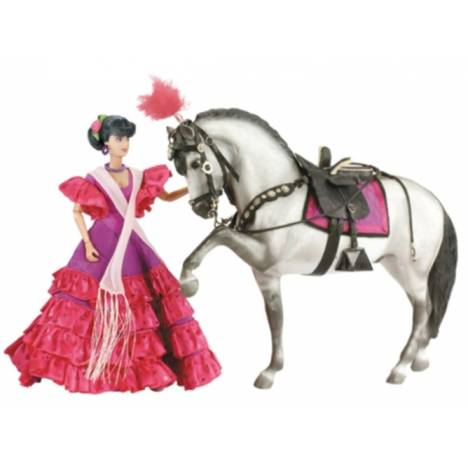 Breyer Traditional Spanish Flaminco Set