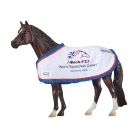 Breyer 2010 World Equestrian Games Traditional Show Blanket - BH9133