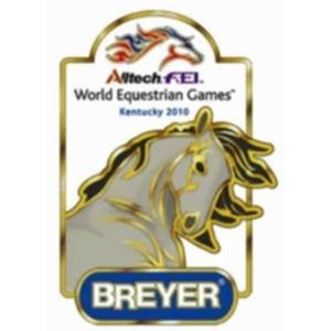 Breyer Esprit Model Of World Equestrian Games Pin Horse Head - BH9134