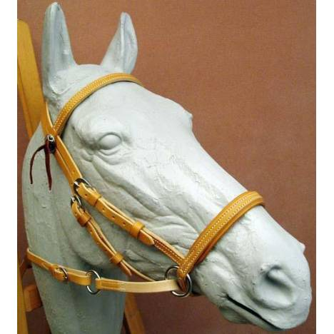 Dr. Robert Cook Bitless Bridle Western Leather Headstall
