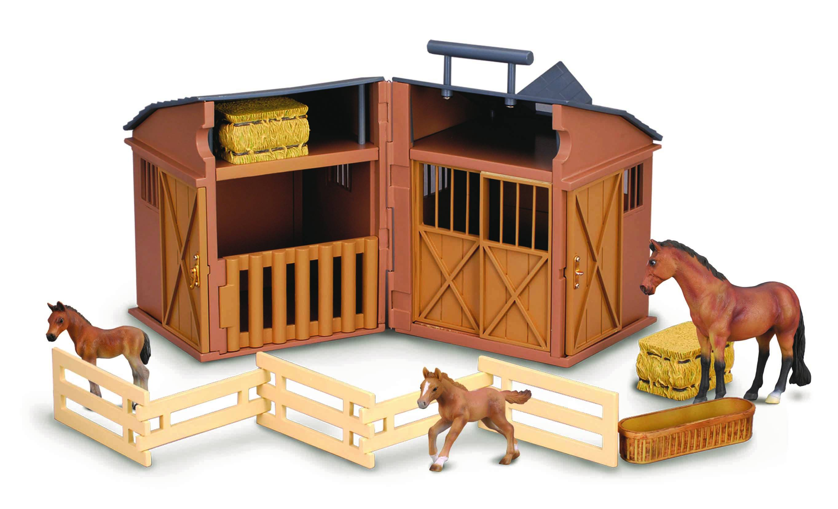 CollectA Gift Stable Playset with Horses