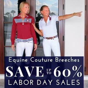 Save up to 60% on Equine Couture Breeches