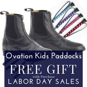 Free Gift with Ovation Kids' Paddock Boots Purchase