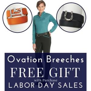 Free Gift with Ovation Breech Purchase