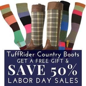 Save 50% on TuffRider Country Boots