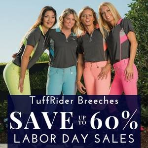 Save up to 60% on TuffRider Breeches