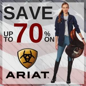 Save up to 70% on Ariat