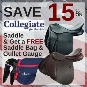 Save 15% on Collegiate Saddles & Get a Free Gift with Purchase