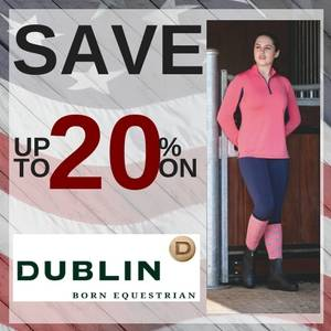 Save up to 20% on Dublin Clothing & Footwear