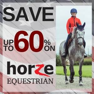 Save up to 60% on Horze Equestrian