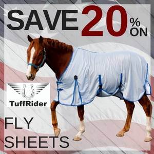 Save 20% on TuffRider In-Season Fly Sheets