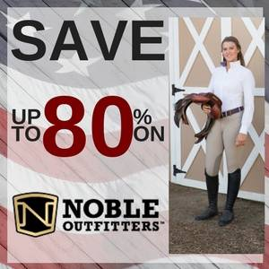 Save up to 80% on Noble Outfitters