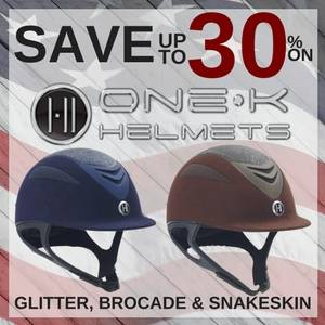 Save up to 30% on One K Riding Helmets