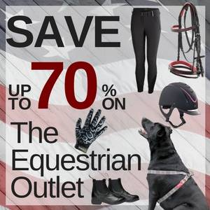 Save up to 70% in the Equestrian Outlet