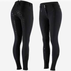 Horze Ladies Diana High Waisted Micro Silicone Full Seat Breeches