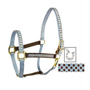 Perris Duo Color Ribbon Halter