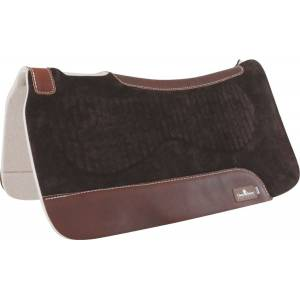 Classic Equine Zone Suede/Felt Western Saddle Pad