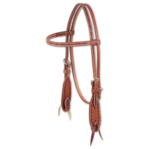 Martin Barbwire Browband Headstall