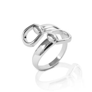 Kelly Herd New Bit Ring - Sterling Silver