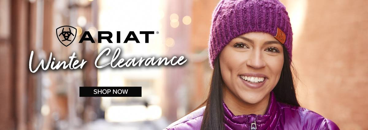 Ariat Winter Clearance