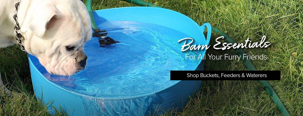 Shop Buckets, Feeders, Waterers