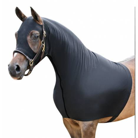 Centaur Lycra Fleece Lined Mane Stay Slicker