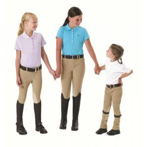 EquiTuff Kids PullOn KneePatch Breeches