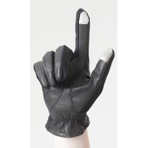 Ovation Ladies Smart Tap Strech Side Panel Leather Gloves