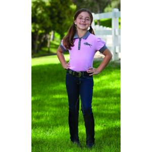 Romfh Kids Denim Knee Patch Riding Breeches