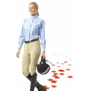 EquiStar Ladies Classic Riding Breeches - Knee Patch