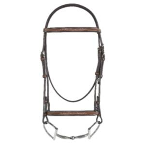 Rodrigo Fancy Raised Padded Bridle with Rei