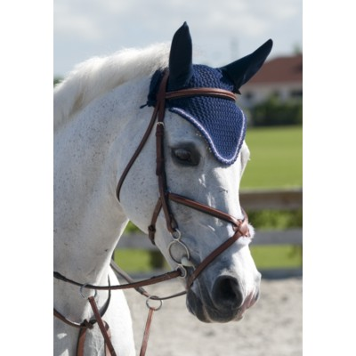 Rodrigo Figure 8 Jumper Bridle with Rubber Reins