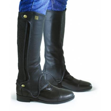 Ovation Precision Fit Black Half Chaps