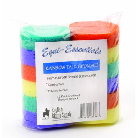 Equi-Essentials Rainbow Tack Sponges