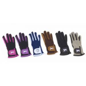 Ovation Kids Hearts & Horses Riding Gloves