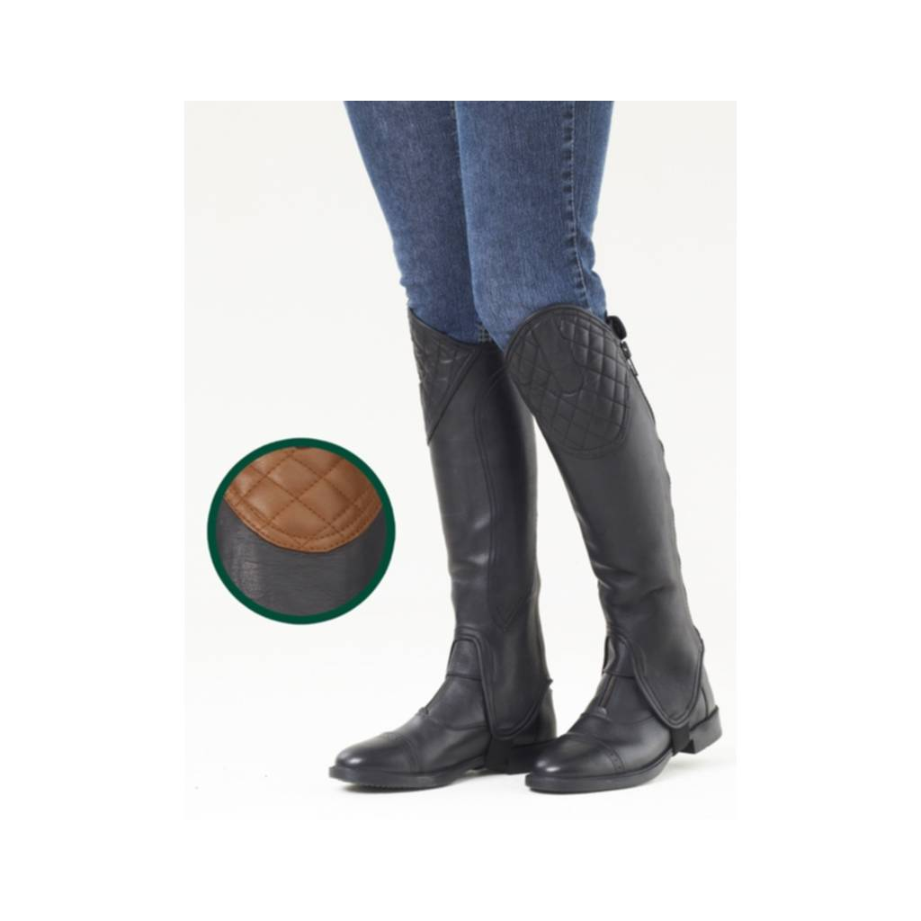 Ovation Ladies Hunt Top Half Chaps
