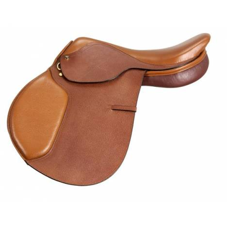EquiRoyal Regency Close Contact Saddle Padded Flap