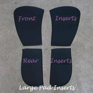 Thinline English Sheepskin Comfort Pad Front Inserts