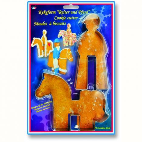 Kelley Horse and Rider Cookie Cutter Set